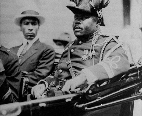 Marcus Garvey, el Moisés negro
